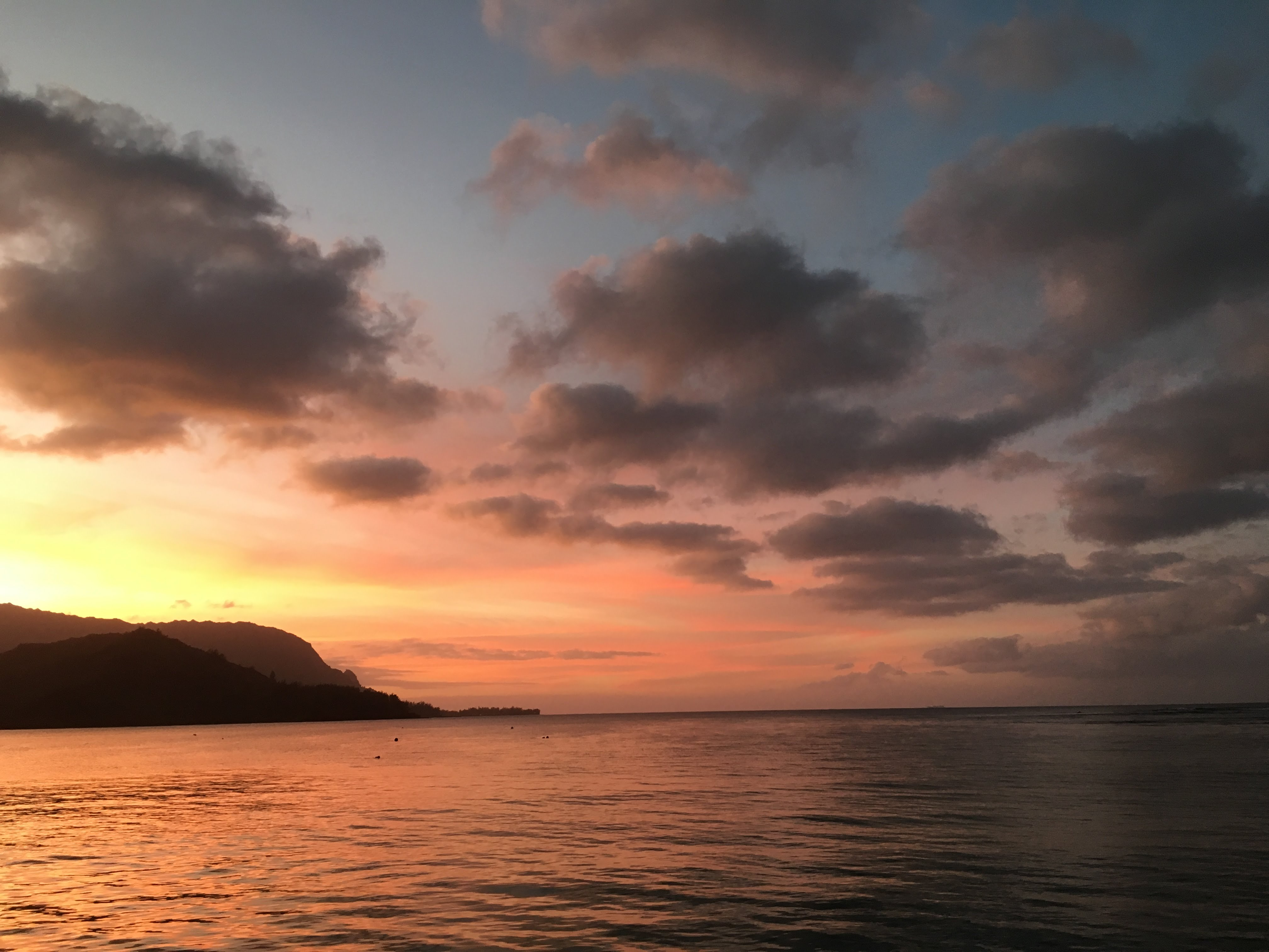 Hanalei-sunset-by the minute