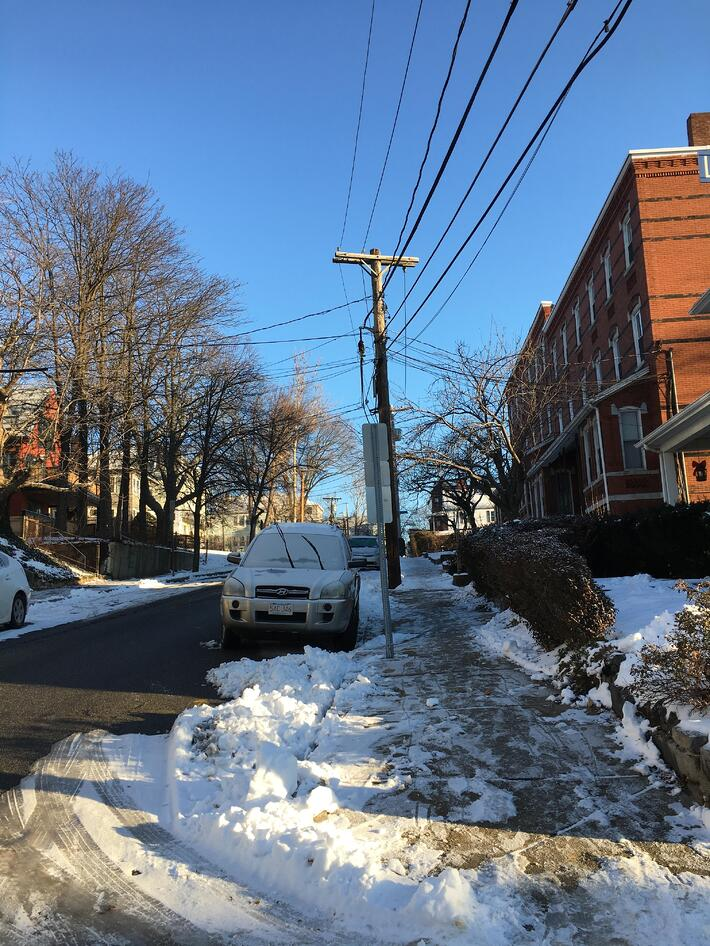 Leaving-view-winter-snow-Somerville-Boston